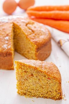 Soft carrot cake-A Sicilian in the kitchen- Torta integrale di carote morbida-Una siciliana in cucina Soft carrot cake-A Sicilian in the kitchen - Carrot Cake Traybake, Cake Recipes, Dessert Recipes, Desserts, Friend Recipe, Muffins, Food Cakes, Savoury Cake, Healthy Breakfast Recipes