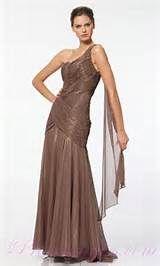 Brown fashion evening dress - Prom Dresses - Zimbio