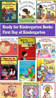 Ready for Kindergarten - First day of Kindergarten books
