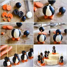 Penguin appetizers!