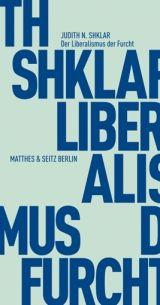 Cover Der Liberalismus der Furcht