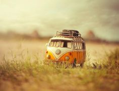 Bangladeshi artist Ashraful Arefin composes little sceneries with miniature vehicles.