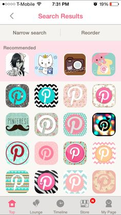 How to get cute icon designs on your iPhone… tutorial w/photos. Pink Wallpaper Girly, Wallpaper Iphone Neon, Kawaii Wallpaper, Aesthetic Iphone Wallpaper, Cute App, Iphone Layout, App Icon Design, Splash Screen, Iphone Design