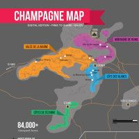 Champagne Map by Wine Folly