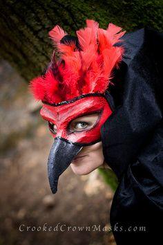 The Phoenix - masquerade mask - Bespoke - halloween mask - bird mask - Halloween Costume Props, Bird Costume, Halloween Masks, Costume Ideas, Fenix Bird, Mascara Papel Mache, Celtic Costume, Phoenix Costume, Steampunk Halloween