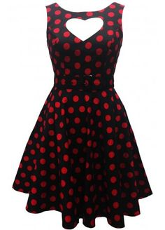 Hell Bunny Sweet Heart Dress | Attitude Clothing