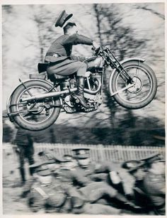 Evel Knievel in WWII?