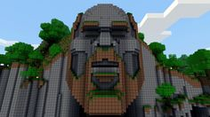 Temple of Notch, well known online, I'm gonna build it using only this picture.