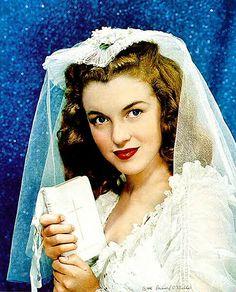 Norma Jeane 1946 Bride