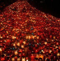 Stream of Candles