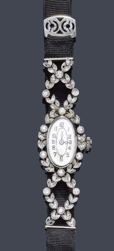 Art Nouveau Jewelry, Jewelry Art, Vintage Jewelry, Jewelry Design, Jewellery, Purple Master Bedroom, Love Wishes, Diamond Flower, European Cut Diamonds