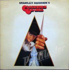 vinyl records Clockwork Orange Stanley Kubrick  K 46127