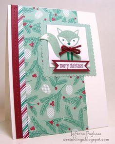 LeAnne Pugliese wee inklings: SIP72 Foxy Friends Christmas