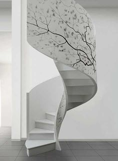 edilco contemporary decorative staircases 2 30 Gorgeous Twig Decorations for Your Home