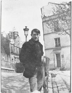 Pablo Picasso [1881 - 1973], Spanischer Maler, Grafiker und BildhauerAufnahmedatum: um 1904Aufnahmeort: ParisInventar-Nr.: DP7Systematik: Personen / K¸nstler / Picasso / Portr‰ts