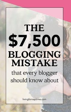 Don't make this HUGE mistake with your blog!