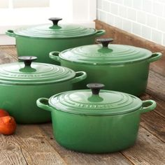 le creuset french ovens.