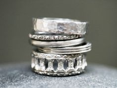 Cathy Waterman stack rings