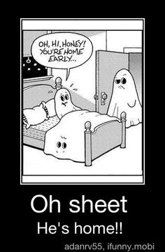 Ohh Ghosts LOL