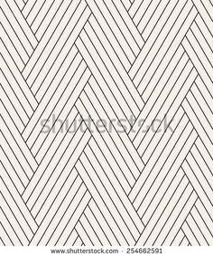 Vector seamless pattern. Modern stylish texture. Repeating geometric background. Striped hexagons