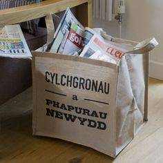 Hide magazines and newspapers!