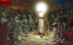 The Resurrection Of Jesus Christ On Easter Sunday April 2019 The last day of the Holy Week i. Resurrection of Jesus Christ marks an primary but pleased event that ends the sad week days of g… Sacramento, Jon Mcnaughton, Jesus Reyes, Every Knee Shall Bow, Image Jesus, Litho Print, Prince Of Peace, Jesus Resurrection, King Of Kings