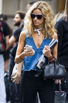 What we need now: a denim tank.