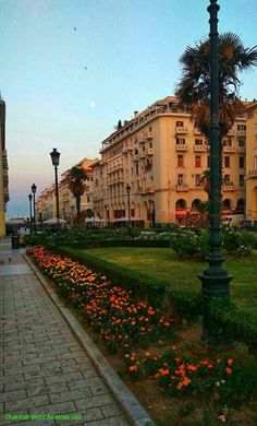 Thessaloniki, Greeks, Macedonia, Ghosts, Beautiful Places, Places To Visit, Sidewalk, Memories, Country