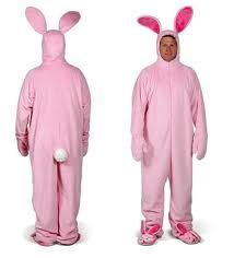 men in bunnysuits?