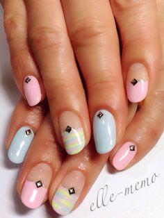 elle-memo #nail #nails #nailart