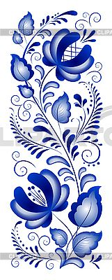 Gzhel Pattern | Russian ornaments in gzhel style. Gzhel (a brand of Russian ceramics ...