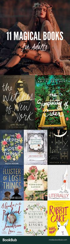 11 magical books for adults and for teens to add to your reading list. These great books are worth a read!