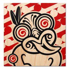 Shane Hansen-Tiki Green Little River Gallery Maori Patterns, Polynesian Art, Maori Designs, New Zealand Art, Nz Art, Maori Art, Kiwiana, Indigenous Art, Native Art