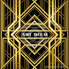Buy Art Deco Grille by marochkina on GraphicRiver. art deco grille, metallic abstract, geometric pattern in the art deco style Motif Art Deco, Art Deco Pattern, Art Deco Design, Abstract Pattern, Abstract Art, Casa Art Deco, Art Deco Stil, Art Deco Home, Art Nouveau