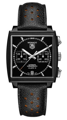 TAG Heuer   Monaco Calibre 12 Automatic Chronograph ACM Limited Edition Watch