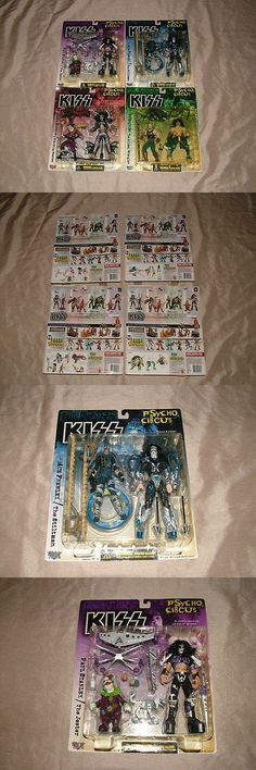 Music 175691: New 1998 Kiss Psycho Circus Mcfarlane Toy Set Of 4 Gene Paul Peter Ace -> BUY IT NOW ONLY: $56.99 on eBay!