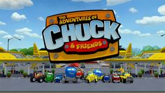 """Check out """"The Adventures of Chuck & Friends"""" on Netflix"""