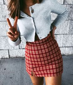 how to style outfits Cute Casual Outfits, Cute Summer Outfits, Spring Outfits, Aesthetic Fashion, Aesthetic Clothes, Teenager Outfits, Outfits For Teens, Brandy Melville Outfits, Brandy Melville Skirt