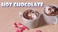 Simple Mug Of Hot Chocolate - Polymer Clay Tutorial