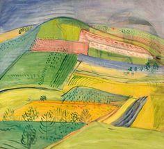 Jenő Barcsay, Tájkép - Krajina Painting, Art, Art Background, Painting Art, Kunst, Paintings, Performing Arts, Painted Canvas, Drawings