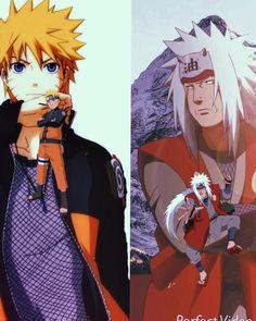 Naruto x jiraiya