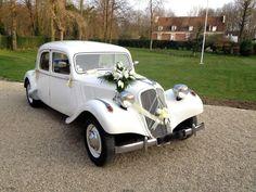citron traction paris elopement car decoration photo 1 weeding services laurence checklist calm wedding car - Decoration Capot Voiture Mariage