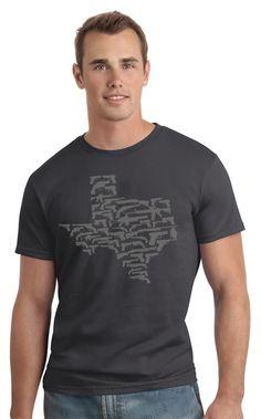 Texas made of guns #guns #2ndAmendment Texas Tees Apparel