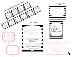 Vision Board Party, Vision Board, Party invitations, New Years Party, Goal digger, Diy Party Kit , Affirmation cards, Instant Download by PartayNaBox on Etsy