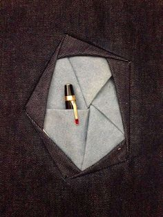 Origamy pockets (creative pattern cutting) on Behance