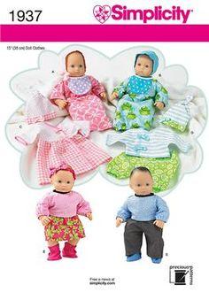 Newest Bitty Baby patterns