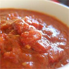 Chunky Marinara Sauce - Allrecipes.com