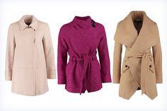 Jesienne kolorowe płaszcze