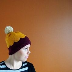 Beret, Free Pattern, Knit Crochet, Beanie, Crafty, Knitting, Hats, Colors, Fashion
