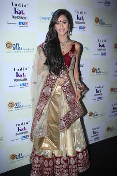 Krystle D'Souza at India Kids Fashion Week. #Style #Bollywood #Fashion #Beauty